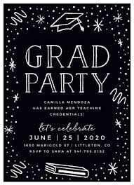 Design Party Invitations 2019 Graduation Party Invitations Super Cute Easy To