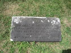 LTC Thomas Fern Perkins Henderson Sr. (1882-1966) - Find A Grave Memorial