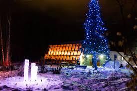 Christmas Tree Lighting Anchorage Alaska Botanical Garden Holiday Lights In The Garden