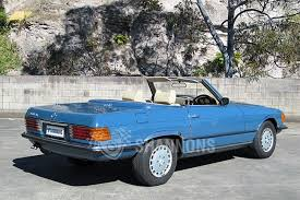 Sold: Mercedes-Benz 350SL Convertible Auctions - Lot 6 - Shannons
