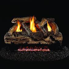 Peterson Split Oak Designer Plus Peterson Real Fyre 24 Inch Split Oak Designer Plus Gas Logs
