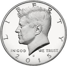 Kennedy Half Dollar Mintage Figures Wikipedia