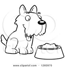 Dog Food Drawing At Getdrawingscom Free For Personal Use Dog Food