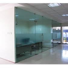 swing patch fitting glass door