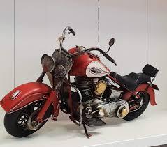 vine transport model red motorbike