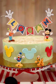 Karas Party Ideas Colorful Mickey Mouse 1st Birthday Party Karas