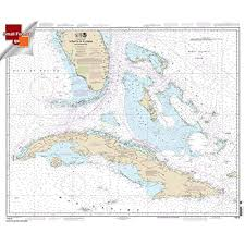 Nautical Chart Of Florida Amazon Com