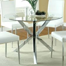 custom glass top dining table round glass table awesome round glass dining room table best ideas