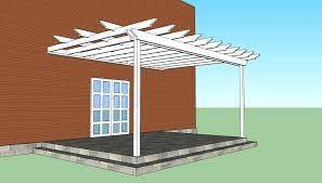 how to build a pergola attached to the house plans for pergola attached to house nice