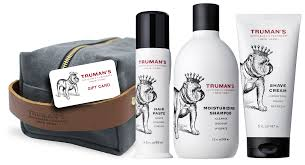 truman s gift set with dopp kit