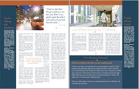 033 Template Ideas Newsletter Blossoms 02x Microsoft Word