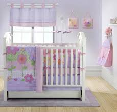 decoration purple polka dot crib bedding exquisite girl baby
