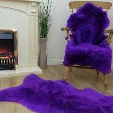 bright purple sheepskin rug bright purple sheepskin rug