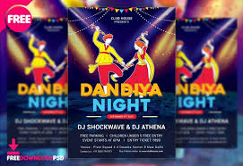 Dandiya Night Flyer Free Psd Freedownloadpsd Com