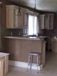 brown painted kitchen cabinets. Full Size Of Trendy Brown Wooden Painted Kitchen Cabinet Metal Bar  Stool Granite Countertop White Cabinets Z