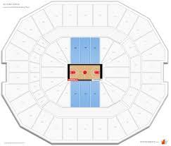 Kfc Yum Center Lower Level Baseline Basketball Seating