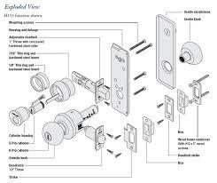 schlage locks parts diagram. Schlage Locks Parts Diagram I
