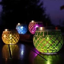 205 Best DECORATIVE LIGHTING Images On Pinterest  Chandeliers Solar Mosaic Garden Lights
