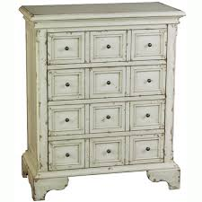 distressed furniture for sale. Hand Painted Distressed Antique White Finish Accent Chest Furniture For Sale 2