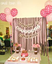 Small Town Life Maycees 1st Birthday Party