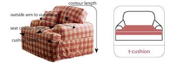how to make furniture covers. How To Measure Armchairs And T-cushions Make Furniture Covers T
