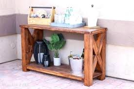 Diy Sofa Table Plans Outdoor Console Table Building Plans Addicted 2