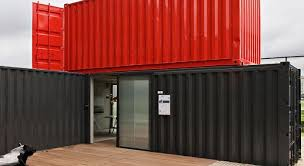 cargo container office. A Brazilian Cargo Container Office By RoccoVidal - 4