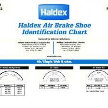 Haldex Brake Shoe Identification Chart Astm A928 1d47jm28zj42