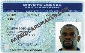 Id Maker Fake - License Driver's Virtual Card Australia