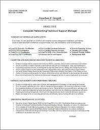 Information Technology It Resume Sample 2015 Skill Based Template