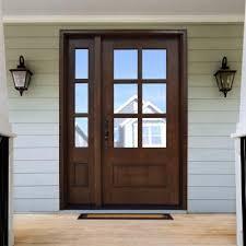 front door with sidelitesOur Best Selling Front Door Entrance Unit Model 186  this 6 lite
