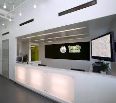 Welcoming Recpetion Counter Pediatric Dental Office Dental Dental