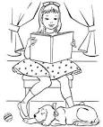 Раскраска читать книгу