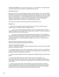 How To Write Employment History On A Resume Resume Sample