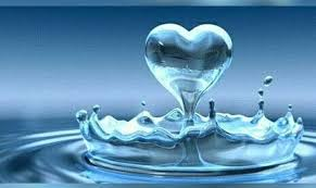 Wassertropfen Herz Herzrasen Liebe Herz Und Wasser