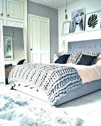 Black White And Pink Decor Grey Bedroom Gray Home Design Pastel Bed ...