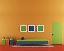 orange wall paintColor Schemes for Orange Walls