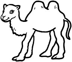 Small Picture Coloring Pages Bactrian Camel Coloring Page Free Printable