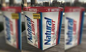Natty Light 77 Pack Where To Buy Natural Light Announces 77 Pack Of Beer