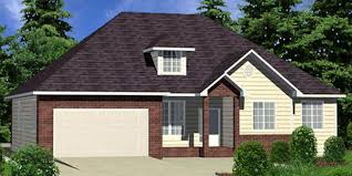 house front color elevation view for 9933 house plans single level house plans house