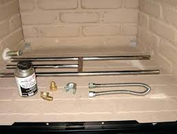 gas fireplace starter pipe fireplace gas starter pipe installation fireplace gas fire starter pipe