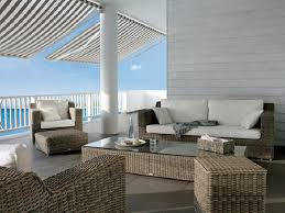 modern rattan furniture. Modern Patio Furniture Round Rattan Sofa Set OMR-F155