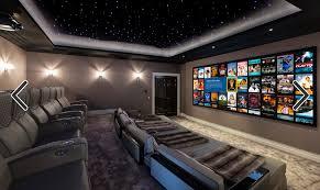 cine room home theater room design