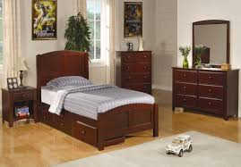 Bedroom Furniture Sets Twin Coaster Parker Twin Slat Bed With Underbed Storage Drawer Unit