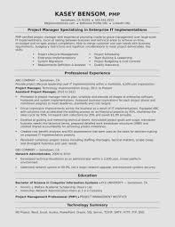 Seven Things You Need To Know About Project Manager Resume Template