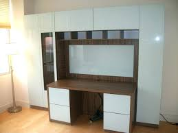 decorating extraordinary wall mounted office desk 47 cabinets desks home gallery
