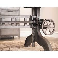 modern industrial design furniture. industrial crank adjustable table siea8425 tableindustrial furnitureindustrial designforging modern design furniture