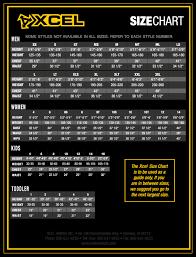 Xcel Wetsuits Size Chart Wetsuit Megastore