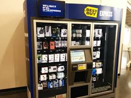Electronics Vending Machine Delectable Best Buy Kiosks Electronic Vending Machines Surprisingly Effective