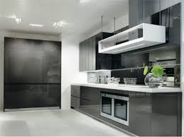 ... Kitchen, Amusing Black Rectangle Modern Wooden Kitchen Designs 2014  Laminated Ideas: kitchen designs 2014 ...